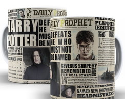 CANECA HARRY POTTER DAILY PROPHET