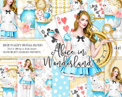 kit digital PAPEIS Alice_in_Wonderland 4