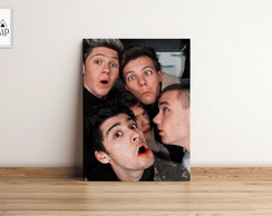 PLACA DECORATIVA MDF ONE DIRECTION