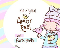 Kit Scrapbook Digital Amor Real