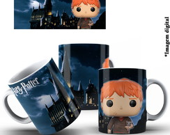 Ron Weasley Harry Potter Caneca Porcelana 325ml Presente