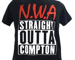 Camiseta NWA 003. Camiseta HipHop rap