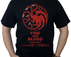 "Camiseta Game of Thrones ""Targaryen"""