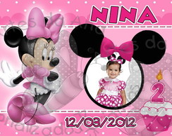 Minnie Pink Ímã