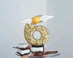 Vela de Biscuit Harry Potter