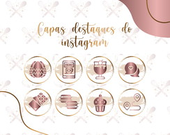 Capa destaques do instagram