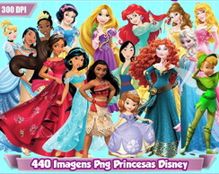 Kit Digital Princesas Disney