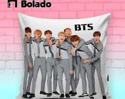 Almofada Decorativa BTS k-pop Integrantes do grupo
