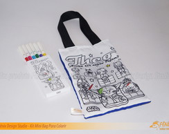 Kit Mini Bag Para Colorir Promocional