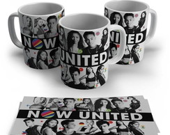 caneca branca now united bandas pop k pop kpop foto