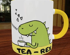 Caneca divertida Tea Rex