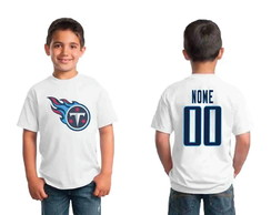 Camiseta infantil Tennessee Titans Personalizada NFL