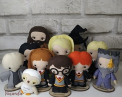 Conjunto 11 Personagens Harry Potter feltro