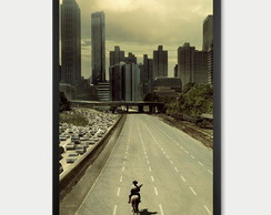 Quadro Decorativo The Walking Dead Poster 20 X 30