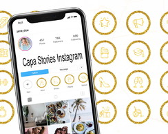 Capa Stories Instagram - Highlights / Destaques DIGITAL