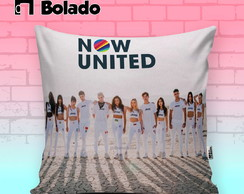 Almofada Decorativa Now United Grupo todo
