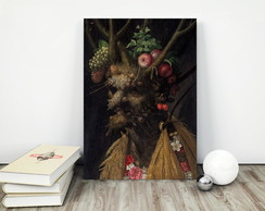 Quadro placa 30x40cm Witch