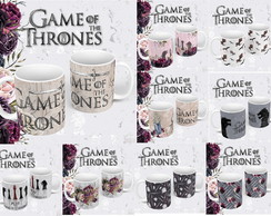 ARTE PARA CANECA SUBLIMAÇÃO Game Of The Thrones PNG