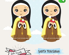 Kit Digital Santa Teresinha Scrapbook