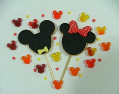 Biscoito decorado - Mickey & Minnie