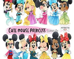 Kit Digital Cute Minnie Princess