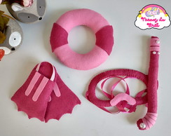 Kit Fantasia Baby Mergulhadora