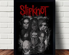 Quadro Decorativo Banda Slipknot A3