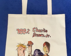 Ecobag 100% Charlie Brown Jr