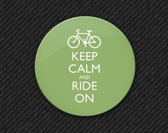 Botton Keep Calm and Ride On