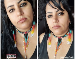 Conjunto Choker Native