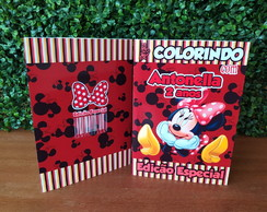 Livrinho de Colorir Minnie (G) 14,85X21