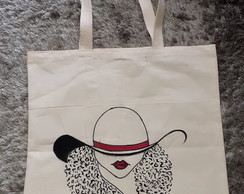 Ecobag estampada Black Power