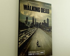 Quadro Decorativo A4 Series The Walking Dead