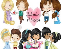 Kit Digital Valentine Princess