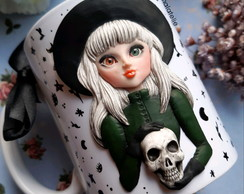 Caneca Witch (porcelana)