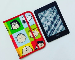 Capa case Kindle 10 geração ou Paperwhite Snoopy Faces