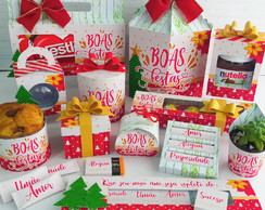 Kit Digital NATAL Boas Festas - STUDIO E PDF