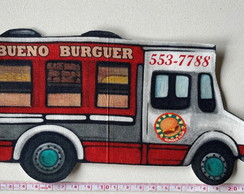 Patch aplique termocolante Food Truck Burger Grande