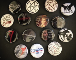 Botons Supernatural SPN Buttons Broches