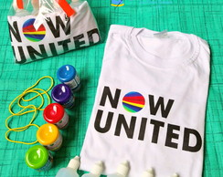 Kit tie dye Now United