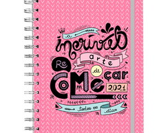 Planner Rosa 2021 - Anual