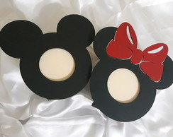 Porta Retrato -Minnie e Mickey