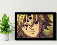 Quadro The Seven Deadly Sins - Mdf