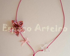 Colar Rosa Butterfly