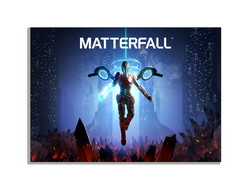 Placa Quadro Decorativo matterfall games for playstation