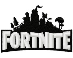 Matriz bordado Fortnite Logo