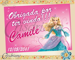 Tag Barbie princesa