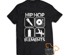 Camiseta Hip Hop Elements