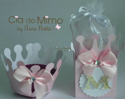 KIT CAIXA E CUPCAKE PRINCESS