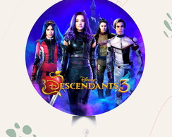 painel Descendants 3 - arte digital
